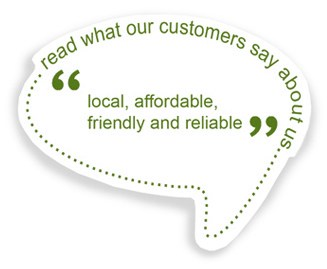 read what our customers say about us...
